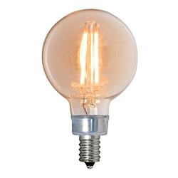 Bulbrite: 776606 LED Filaments: Fully Compatible Dimming, Antique LED2G16/22K/FIL-NOS/2