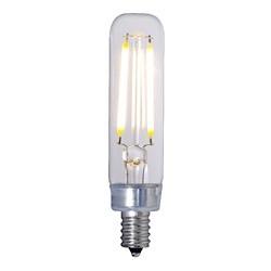 Bulbrite: 776680 LED Filaments: Fully Compatible Dimming, Clear LED2T6/27K/FIL/E12/2