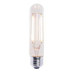 Bulbrite: 776653 LED Filaments: Fully Compatible Dimming, Clear LED2T9/27K/FIL/2