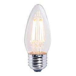 Bulbrite: 776662 LED Filaments: Fully Compatible Dimming, Clear LED4B11/27K/FIL/E26/2