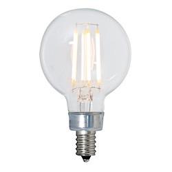 Bulbrite: 776673 LED Filaments: Fully Compatible Dimming, Clear LED4G16/27K/FIL/E12/2