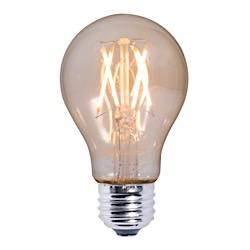 Bulbrite: 776602 LED Filaments: Fully Compatible Dimming, Antique LED5A19/22K/FIL-NOS/2