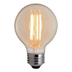 Bulbrite: 776600 LED Filaments: Fully Compatible Dimming, Antique LED5G25/22K/FIL-NOS/2