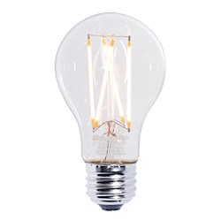 Bulbrite: 776574 LED Filaments: Fully Compatible Dimming, Clear LED7A19/27K/FIL/2