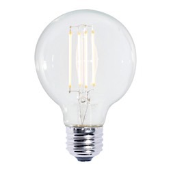 Bulbrite: 776575 LED Filaments: Fully Compatible Dimming, Clear LED7G25/27K/FIL/2