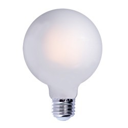 Bulbrite: 776683 LED Filaments: Fully Compatible Dimming, Frost and Milky LED7G40/27K/FIL/E26/F/2