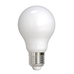 Bulbrite: 776617 LED Filaments: Fully Compatible Dimming, Frost and Milky LED8A19/27K/FIL/M/3