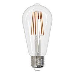 Bulbrite: 774139 LED Filaments Title 24 Compliant: JA8 Fully Compatible Dimming LED8ST18/30K/FIL/2/JA8