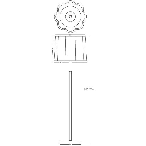 robert abbey lighting d2131 axis floor lamp